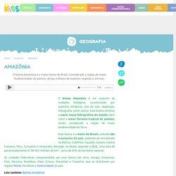 Amazônia: aspectos geográficos, devastação, curiosidades - Escola Kids