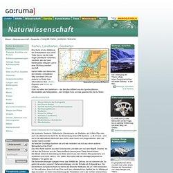 Geografie: Karten, Landkarten, Seekarten