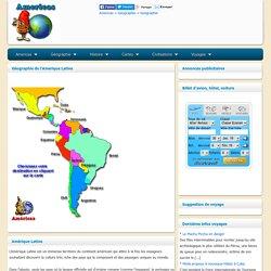 Géograhie Amerique Latine - Americas