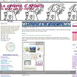 Les outils du géographe - La caverne d'Alisette