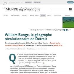 William Bunge, le géographe révolutionnaire de Detroit