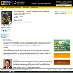 National Geographic Learning - Reading - Reading Explorer 1: Student Book with Online Workbook, 2ndEdition - 9781305254527