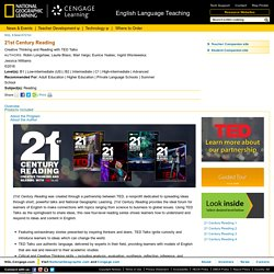 National Geographic Learning - Reading - 21st Century Reading - PRO0000000539