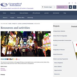 Resources and activities