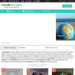 Géographie / education.francetv.fr