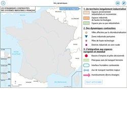 Les dynamiques contrastées des systèmes industriels français (croquis)