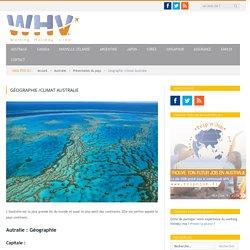 Géographie et climat de l'australie