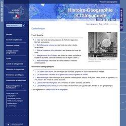 Histoire-géographie:Cartothèque