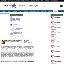 Histoire-Géographie-Lyon - La chrétienté médiévale du XIème au XIIIème siècle.