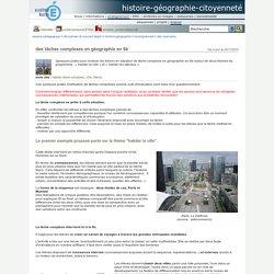 histoire-géographie-citoyenneté - des tâches complexes en géographie en 6è