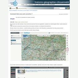 histoire-géographie-citoyenneté - Comment faire une carte narrative ?