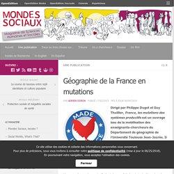 Géographie de la France en mutations