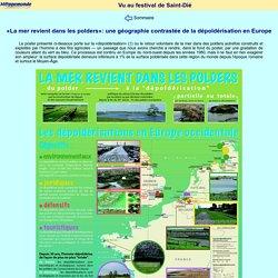 «La mer revient dans les polders»: une géographie contrastée de la dépoldérisation en Europe