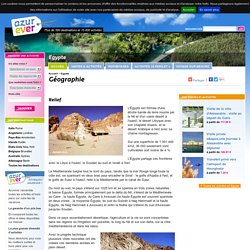 Géographie - Egypte