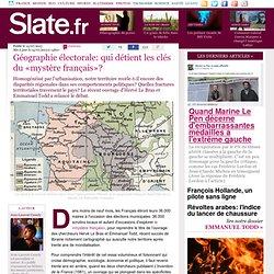 Géographie électorale: qui détient les clés du «mystère français»?