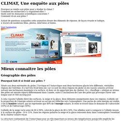 Géographie des pôles - CLIMAT, une enquête aux pôles - CNRS - sagascience