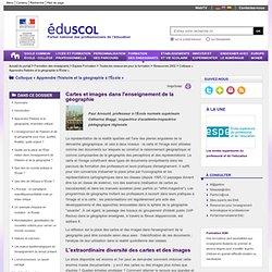 Colloque « Apprendre l'histoire et la géographie à l'École » - Cartes et images dans l'enseignement de la géographie