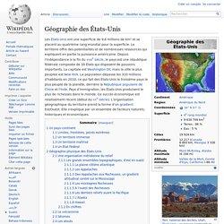 Géographie des États-Unis