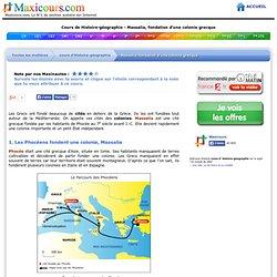 Massalia, fondation d'une colonie grecque