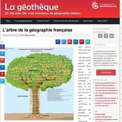 l'arbre de la géographie française