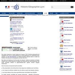 Histoire-Géographie-Lyon - Enseigner l'Habiter avec Géoconfluences