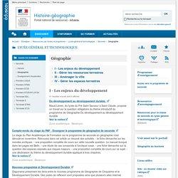 Géographie-Histoire-géographie et éducation civique-Éduscol