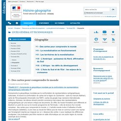 Géographie-Histoire-géographie-Éduscol
