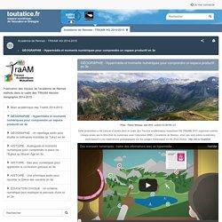 GÉOGRAPHIE - Hypermédia et moments numériques pour comprendre un espace productif en 3e - toutatice.fr