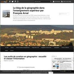 Les outils de curation en géographie : recueillir et classer l'information