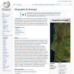 Géographie du Portugal