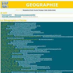 Géographie à l'école primaire : sites de ressources, fiches ...