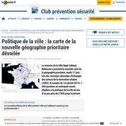 Politique de la ville : la carte de la nouvelle géographie prioritaire dévoilée