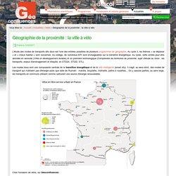 Géographie de la proximité : la ville à vélo