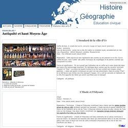 Antiquité et haut Moyen-Âge - Histoire Géographie Education civique