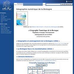 Géographie numérique de la Bretagne - SkolVreizhWiki