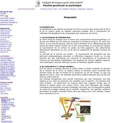 Geographie : La télédétection