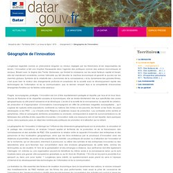 4. Géographie de l'innovation