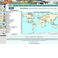 Pays du Monde : géographie, tourisme, politique, économie, culture