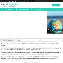 Apprendre et réviser la géographie avec FranceTv Education