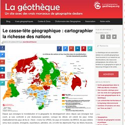 La richesse des nations [carte]