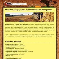 Situation géographique et économique de Madagascar