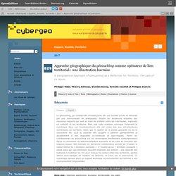 Approche géographique du géocaching comme opérateur de lien territorial: une illustration havraise