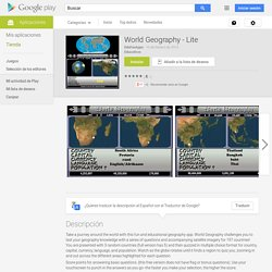 World Geography - Lite - Aplicaciones de Android en Google Play