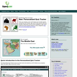 Lizard Point Geography Quizzes clickable map quizzes for fun and learning