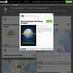 Human Geography: An Evolving Discipline