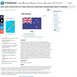 New Zealand: Maps, History, Geography, Government, Culture, Facts, Guide & Travel/Holidays/Cities