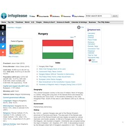 Hungary: Maps, History, Geography, Government, Culture, Facts, Guide & Travel/Holidays/Cities