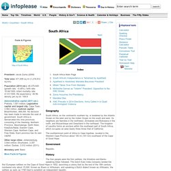 South Africa: Maps, History, Geography, Government, Culture, Facts, Guide & Travel/Holidays/Cities