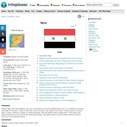 Syria: Maps, History, Geography, Government, Culture, Facts, Guide & Travel/Holidays/Cities