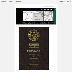 2 Geography Chapter of Regrarians Handbook released